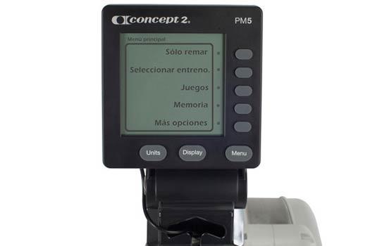 Consola remo Concept2 modelo E