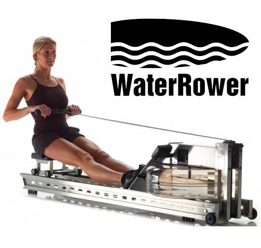 Chica en Waterrower S1
